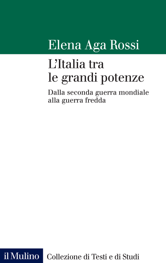 Copertina del libro L'Italia tra le grandi potenze